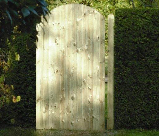 Round Top T Amp G Gate Standard Gates