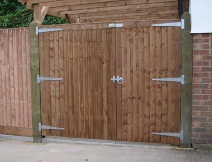 Close Board Gates Driveway Gates