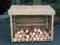 Log Stores & Dustbin Covers Hertfordshire