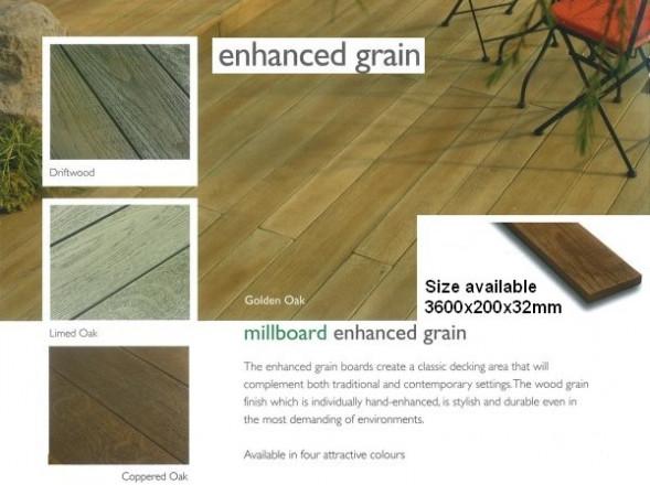 Millboard - Enhanced Grain - Composite Decking